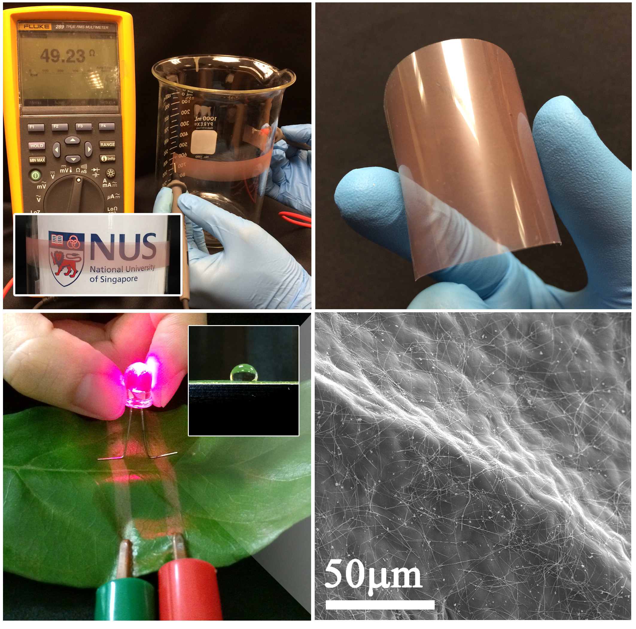 Facile control of copper nanowire via the Maillard reaction using food chemistry for large scale transparent flexible conductors